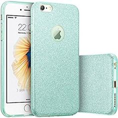 Amazon.com: iPhone 6s Plus Case, Imikoko™ Fashion Luxury Protective Hybrid Beauty Crystal Rhinestone Sparkle Glitter Hard Diamond Case Cover For iPhone 6s/6 Plus (Bling Rose Gold) (Green): Cell Phones & Accessories