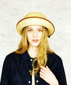 ハチガハナ(ハチガハナ)の【ハチガハナ】 braid hat (ブレードハット)(ハット) ブラウン
