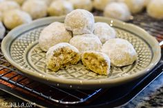 Polvorones de nuez - REJINILLA Mexican Wedding Cookies, melt-in-your-mouth goodness