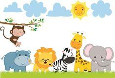 adesivos tema safari - Pesquisa Google