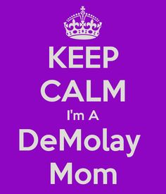 Yes, that'd be me!  OK, my DeMolays are adults now, but still!