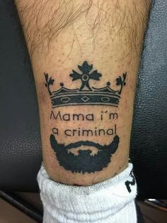 https://www.instagram.com/konstantinaavr/ follow me on Instagram. Mama I'm a criminal tattoos. Criminal tattoos