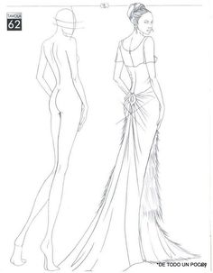 fashion illustration sketches templates - Google Search