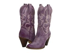 I know we already have our shoes, but these are purple cowboy boots! @Amber Nelson @Alissa Nelson-Anschutz