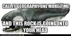geology major meme. it is really the worst insult to a geologist