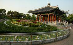 Park Yongdusan Busan South Korea