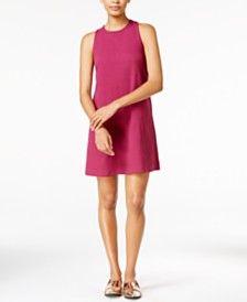 Maison Jules Sleeveless Shift Dress, Only at Macy's