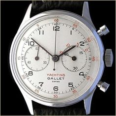 The Gallet MultiChron Yachting Chronograph...
