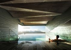 Mountain Lodge on Sognefjorden by Haptic. Norway.