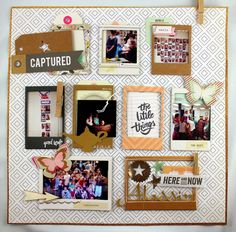 Crate Paper - Notes and things by Fleur Smith for ScrapbookNerd.com