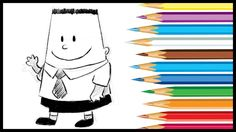 HOW TO DRAW GEORGE BEARD FROM CAPTAIN UNDERPANTS 2017