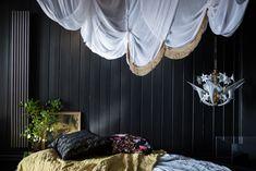 COLUMN radiator in special colour, The Fronze (gunmetal/bronze). 1522 Watts £367 + vat. Stock radiator. 1800mm H x 233 mm W x 95mm D. Beautiful photography from Maren Ingeborg Gråblomst - @villabetulablog