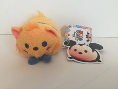 disney japan cat series aristocats toulouse tsum mini plush new with tags
