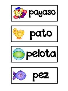 Las Mejores Palabras {Spanish Word Wall} 116 cards plus 16 sight words!