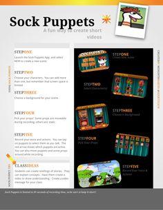 Sock Puppets App Tutorial
