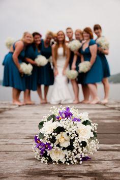 Bridesmaids ~ Photo by Landon Wise http://www.landonwisephotography.com/