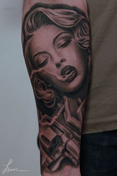 55+ Awesome Forearm Tattoos   Cuded