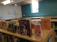 Our display for National Hispanic Heritage Month, which is September 15 - October 15.