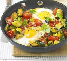 One-pan summer eggs