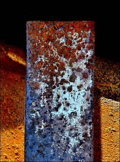 by dontaylor, via Flickr very interesting  rust