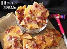 Bacon Brittle! Sweet and salty...you know this has to be good!