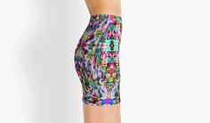 The Flir of Chemicals Mini Skirt by Polka Dot Studio, new l retro l vintage l 60's l bright l mod l graphic l abstract l geometric l hippie chic l trendy fashion apparel. Feel great, look hip in this contemporary original art on apparel l tech accessories l fashion  accessories l home decor. Perfect for travel or gift of just feeling trippy!