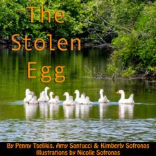 THE STOLEN EGG by Penny Tselikis, Amy Santucci, Kimberly Sofronas Book Creator, The Creator, Chapter Books, Math Resources, True Stories, Amy, Eggs, Math, Egg