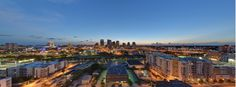 Downtown Tampa at Dusk! Check out @amaliearena @tbtimesforum all the back to 1 Buc Place #TampaRules #SkyHouseRules @lincolnpropco