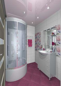 Esimerkki kylpyhuonesuunnitelmasta K-rauta Venäjä. Huom. tuotevalikoima vaihtelee maittain. A bathroom design from K-rauta Russia. Please note that the sortiment varies from country to country.
