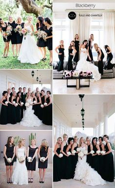 top 10 colors for fall bridesmaid dresses 2015 tulle Fall Bridesmaid Dresses, Black Bridesmaids, Wedding Bridesmaids, Wedding Attire, Wedding Dresses, Fall Wedding Colors, Wedding Bells, Dream Wedding, Wedding Black