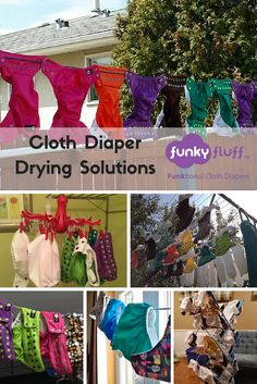 Cloth Diaper Drying Solutions