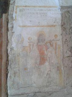Venosa-Trinità- Madonna in trono