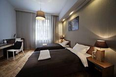 Nowoczesna sypialnia dla gości