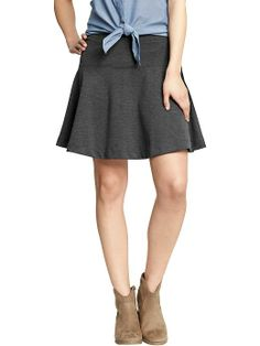 Women's Fit-and-Flare Ponte Knit Skirts | Old Navy
