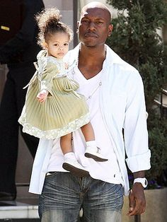 Tyrese - Gotta love seeing a man take care of his daughter! Nothing sexier