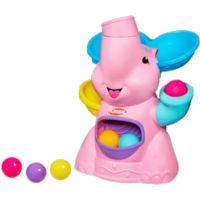 PLAYSKOOL POPPIN PARK PINK ELEPHANT BUSY BALL POPPER