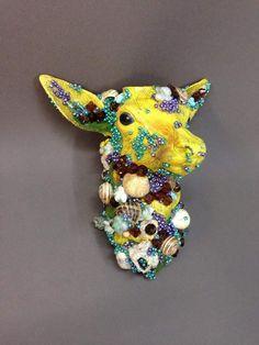 "GIORGOS TSERIONIS,""DEER,"",2014 Installation Art, Ceramic Art, Deer, Brooch, Ceramics, Jewelry, Ceramica, Pottery, Jewlery"