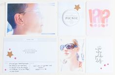 Picnic Collection | Sahin Desings by Nikki Kehr Nimena #projectlife #hybrid #hybridprojectlife
