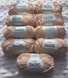 A personal favorite from my Etsy shop https://www.etsy.com/listing/490453742/drops-yarn-paris-peach27-colorway-100