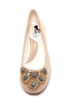 Farina Embellished Ballet Flat