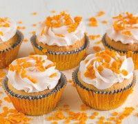 Cupcakes met een koninklijk tintje