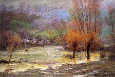 John Ottis Adams (1851-1927) American Impressionist Painter