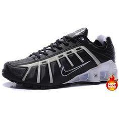 best service 36944 e909d www.asneakers4u.com Mens Nike Shox NZ 3 OLeven Black Grey White Nike Shox