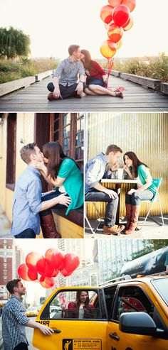 engagement shots from jenny sherouse via brooklyn bride