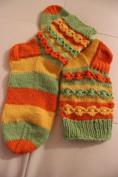 Villasukkavaihto: Keväiset villasukat