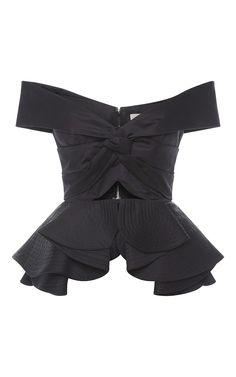 Cotton Off The Shoulder Agatha Top by JOHANNA ORTIZ for Preorder on Moda Operandi