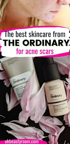This is the best guide on how to use The Ordinary for acne scars. Acne scars remedies, how to get rid of acne scars, acne scars and dark spots, home remedies for acne scars, face mask for acne scars, acne scars natural treatments, The Ordinary skincare routine for acne scars, acne treatment, acne map, blemishes on face remedies, clear skin tips, clear skin diet, clear skin products, The ordinary niacinamide, zinc, before and after, peeling solution, skincare, beauty, skin care, peeling… The Ordinary Acne Scars, Scar Remedies, Home Remedies For Acne, Best Skincare Products, Skin Products, Skin Care Routine Steps, Skin Care Tips, Natural Treatments, Acne Treatment