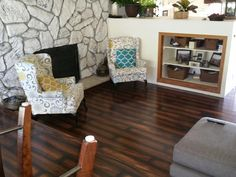 """""""We bought a new house - it had old white carpet in dinning and family room. The house has a lot of light wood, we have a lot of dark wood furniture. It looks so nice and upscale. My wife and I did it all in 2 days! Lot of hard work but look at the results!"""""""