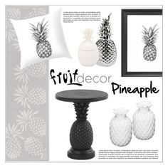 """""""Fruit Decor"""" by sebi86 ❤ liked on Polyvore featuring interior, interiors, interior design, home, home decor, interior decorating, Home Decorators Collection, Tommy Bahama, Pols Potten and fruitdecor"""