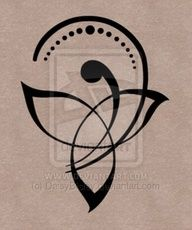 Celtic mother/child symbol